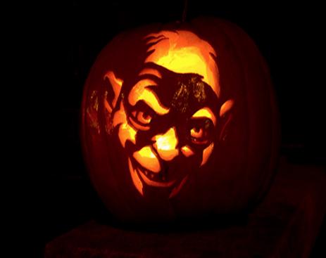 gollum_pumpkin